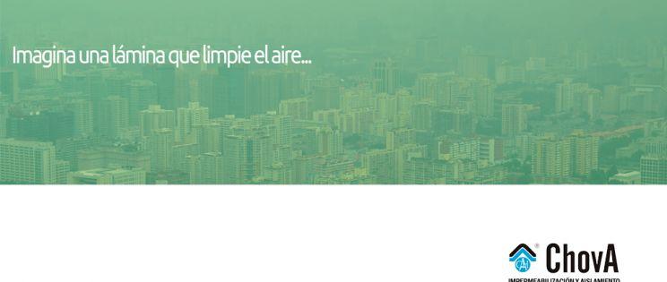 Politaber Nature de ChovA: lámina impermeabilizante que limpia el aire