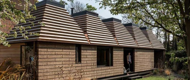 Cork House, una vivienda sostenible junto al Támesis. Matthew Barnett Howland Architect