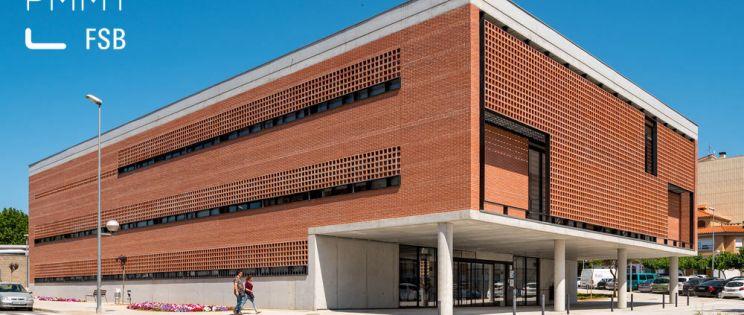 PMMT+FSB, Clear Code, Centro de Salud de Amposta: elegante y funcional