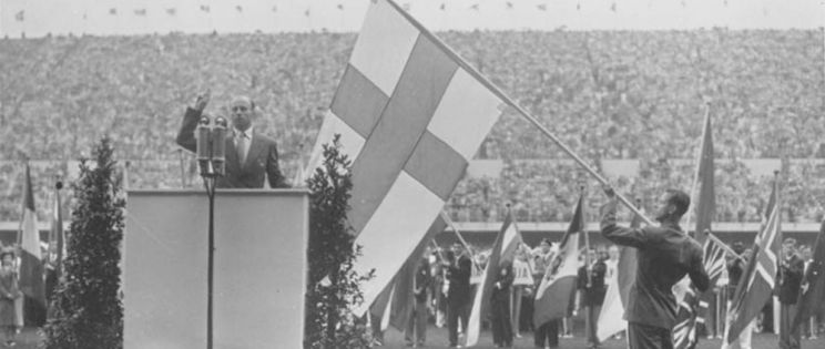 Arquitectura olímpica - Helsinki 1952