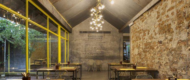 Restaurante KoCo de Stapati arquitectos. Adaptación y reutilización