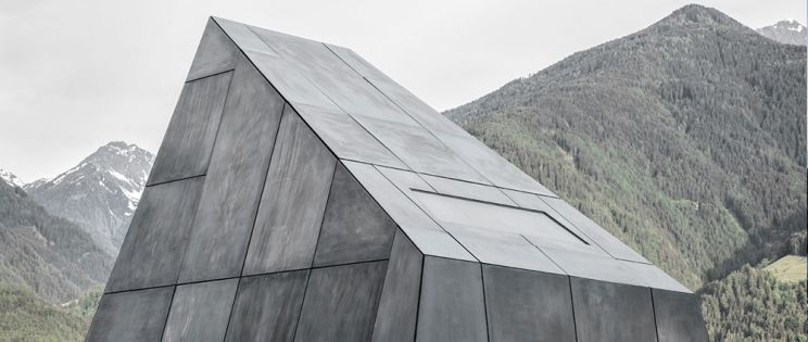 La arquitectura del vino: Bodega Pacherhof