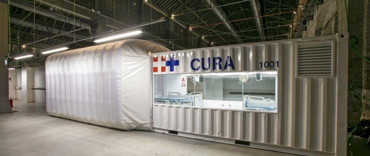 El proyecto CURA se hace realidad con la llegada del primer módulo
