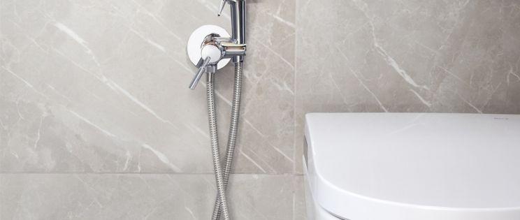 Ducha higiénica: espacios reducidos con la máxima funcionalidad