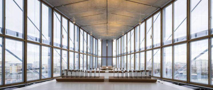 Maison de l'Ordre de l'Avocats, buscando la transparencia y ligereza