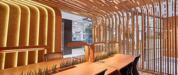 Entornos de trabajo biofílicos. Living Lab y Regeneration Pods en The Shard.