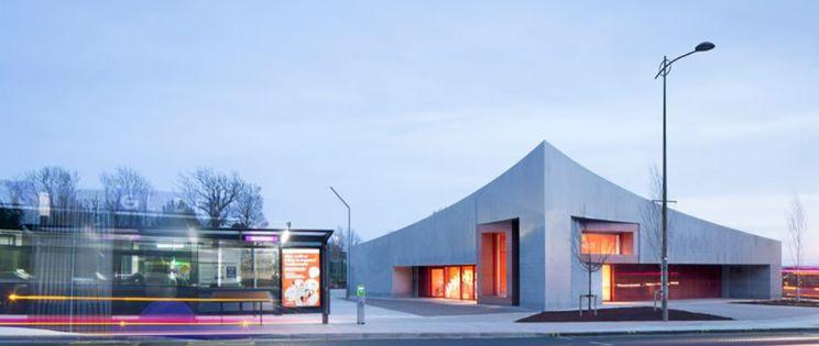 Transport Hub, edificio del año 2019 de Irlanda del Norte, de Hall McKnight.
