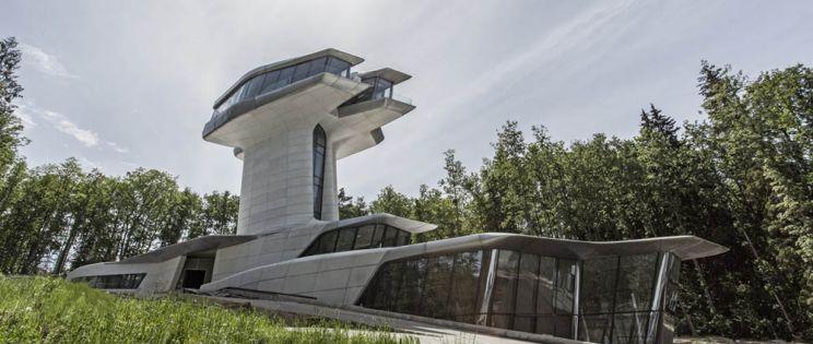 La arquitectura doméstica de Zaha Hadid. Capital Hill Residence, Moscú.