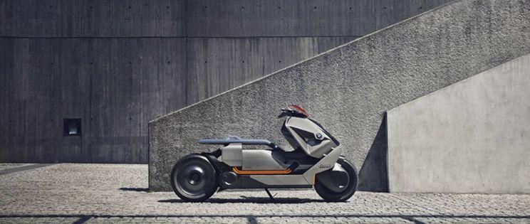 Motocicleta BMW. Diseño de emisión cero