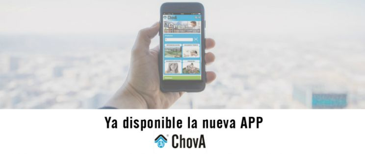 ChovA lanza la primera APP en el sector de la Impermeabilización y Aislamiento