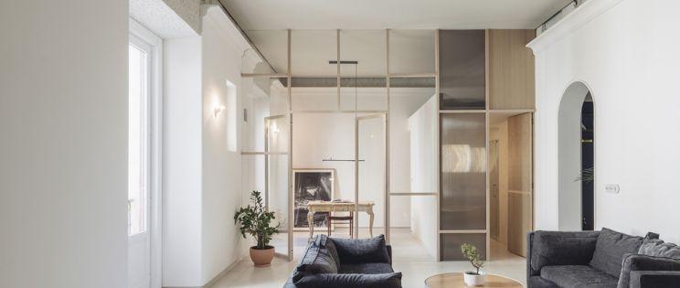 Casa en Palacio, rehabilitada por el estudio Ideo Arquitectura