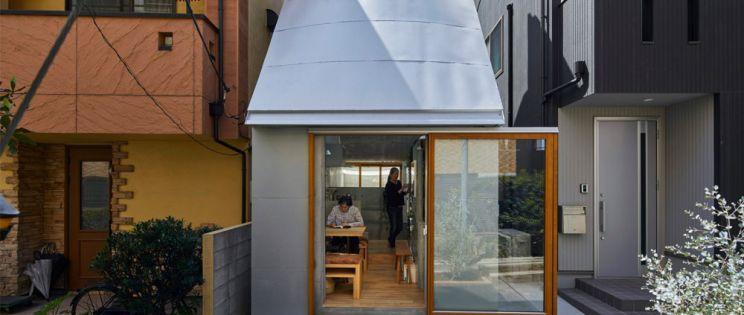 Love2 House de Takeshi Hosaka. Mini vivienda en Tokio