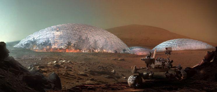 Mars Science City. Proyecto de colonización del arquitecto Bjarke Ingels