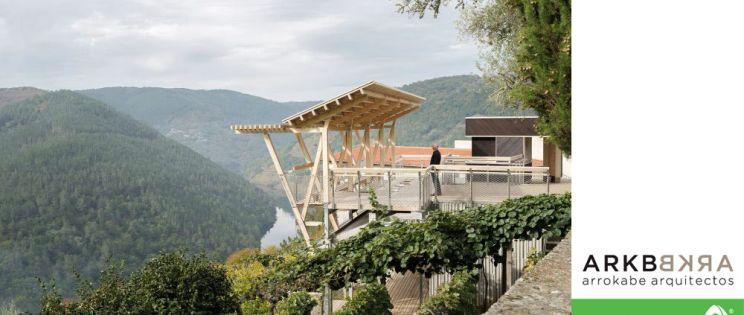 Mirador da Cova. Arquitectura para el paisaje de la mano de Accoya y firma de Arrokabe Arquitectos