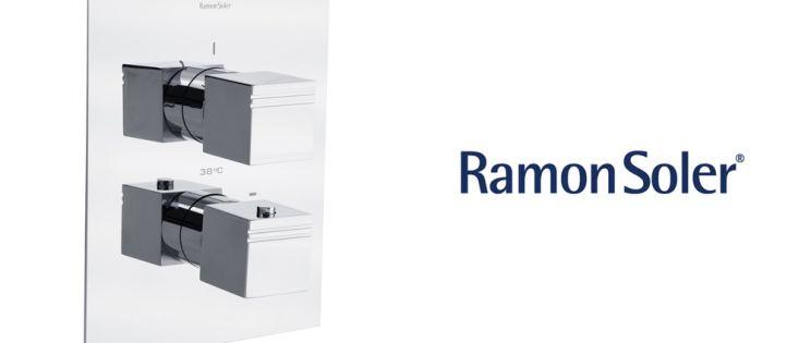 Ramon Soler  lanza los nuevos Termostáticos empotrados de ducha con placa Superslim