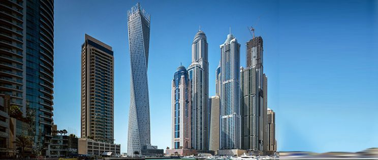 Rascacielos Cayan Tower de SOM