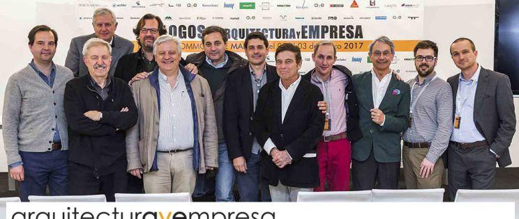 """Finaliza """"Diálogos  de Arquitectura y Empresa"""" en Madrid."""