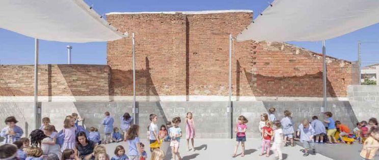 Reforma de l'Escola 906 en Sabadell, por Harquitectes