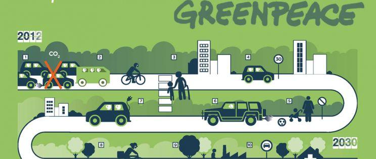 Greenpeace: El transporte en las ciudades: Un motor sin freno del cambio climático