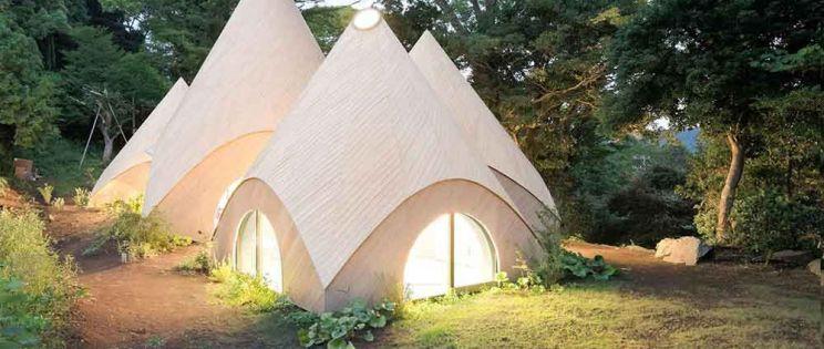 Centro de atención a mayores Jikka en Itou-shi, por Issei Suma Architects