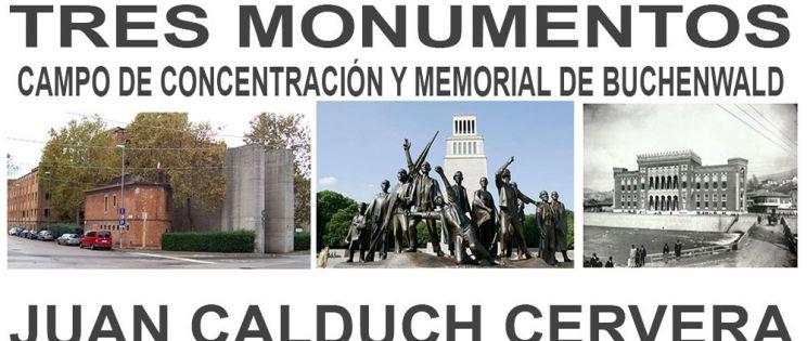Tres monumentos: campo de concentración y Memorial de Buchenwald (Weimar).