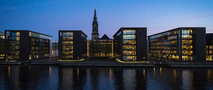 Copenhague, renovación urbana en el Waterfront
