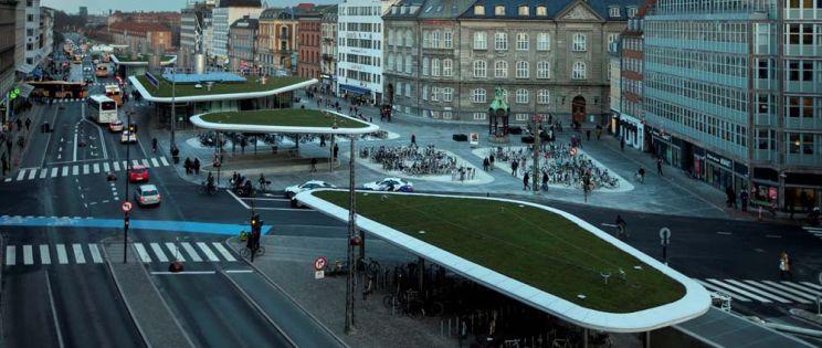 Remodelación de la antigua Estación de Nørreport. Copenhague