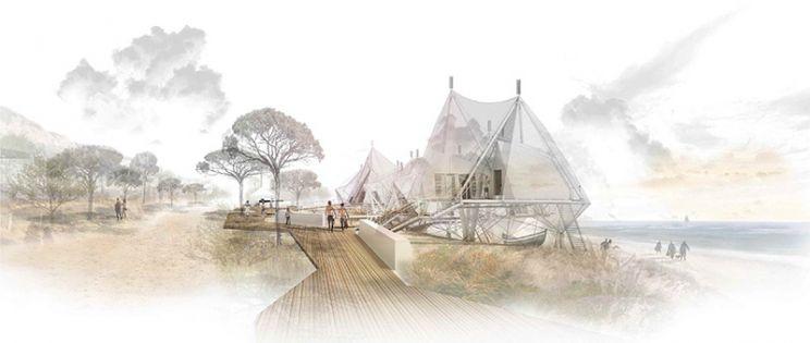 Hospeder�a en Fonte de Telha. 3 Premiado I Concurso PFC Arquitectura y Empresa