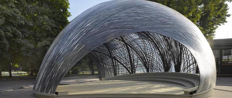 ICD/ITKE Research Pavilion 2014-15, Universidad de Stuttgart
