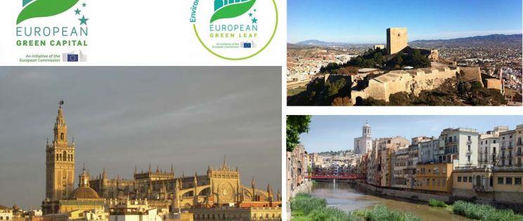 Girona, Lorca y Sevilla: Ciudades candidatas a los premios European Green Leaf 2018 y European Green Capital 2019
