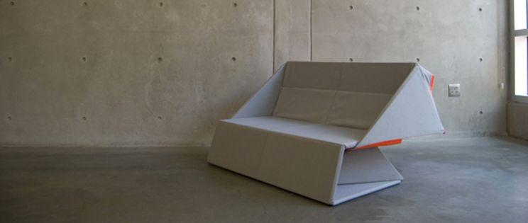 Sofá Origami un dos en uno