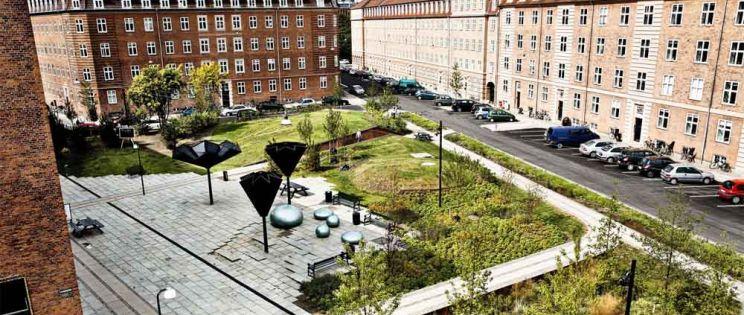 Taasinge Square. Copenhague