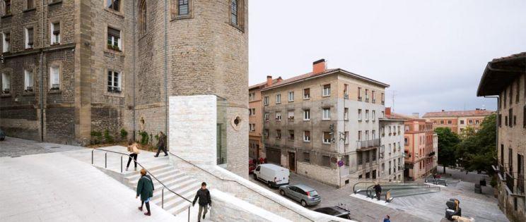 Accesibilidad. Centro Histórico. Vitoria-Gasteiz.