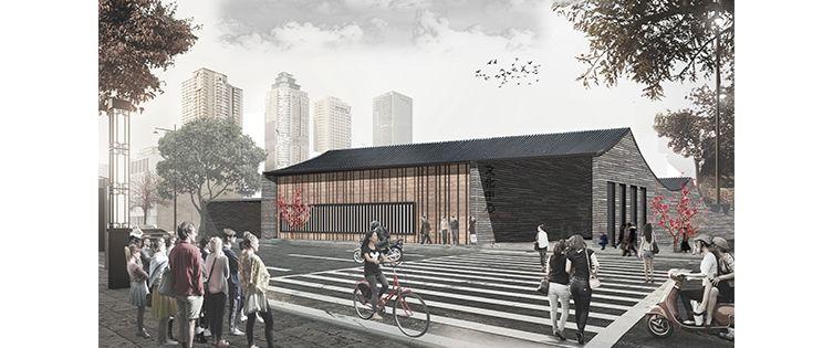 Centro Cultural en Nanjing, China