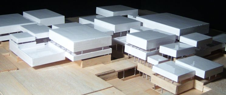 Aprehendiendo entre Concavidades y Convexidades. Escuela de Arquitectura en Zaragoza