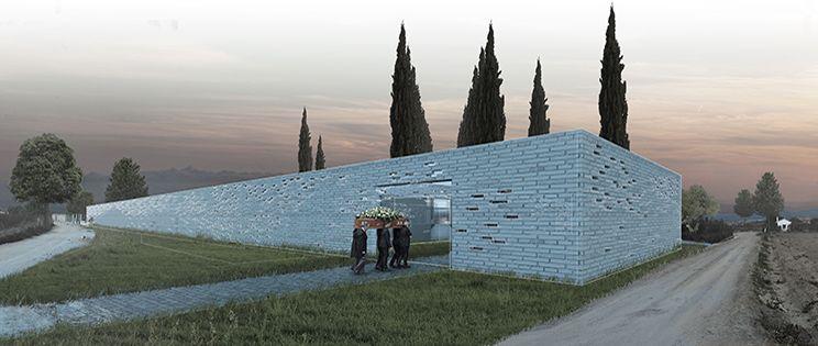 Sagrada Entropía - Un cementerio en la vega de Granada.