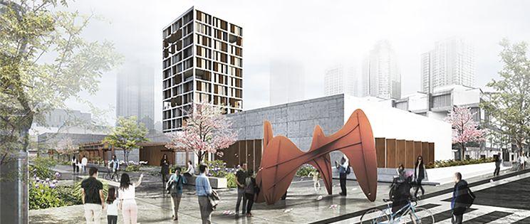 Centro sociocultural en Nanjing