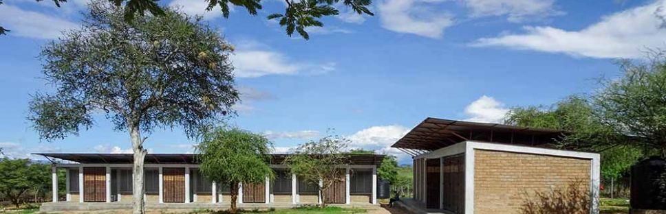 Asilong Christian High School, un complejo educativo sostenible en Kenia. BNIM