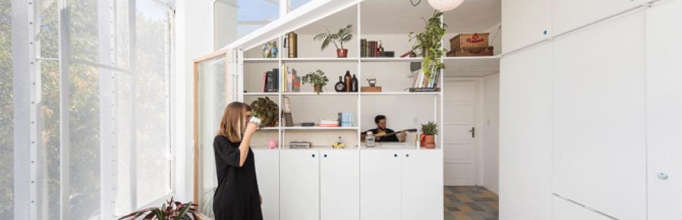 Apartamento pequeño en Buenos Aires, Argentina por IR arquitectura