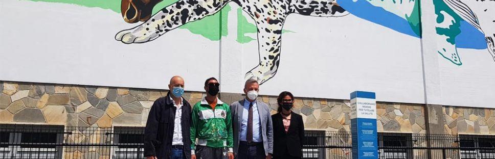 Arte urbano para luchar contra la contaminación. Materiales por la sostenibilidad
