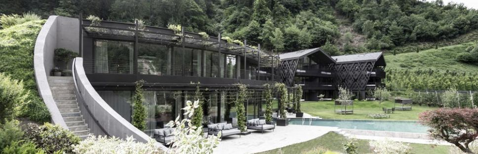 Apfelhotel Torgglerhof. Vacaciones enmarcadas por la agronomía y arquitectura del Alto Adige
