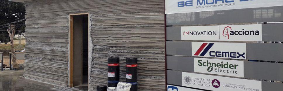 Cuenta atrás para la primera vivienda impresa en 3D de España con ChovA