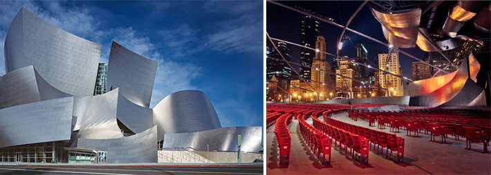 Disney Concert Hall - Pritzker Pavillion