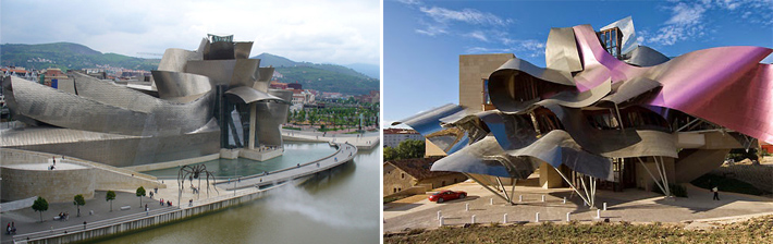 Museo Guggenheim - Hotel Marqués de Riscal